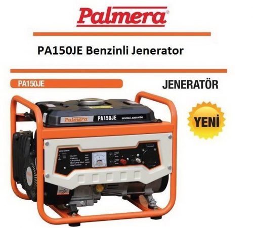 Palmera PA150JE Benzinli Jeneratör 1.0kVA Monofaze