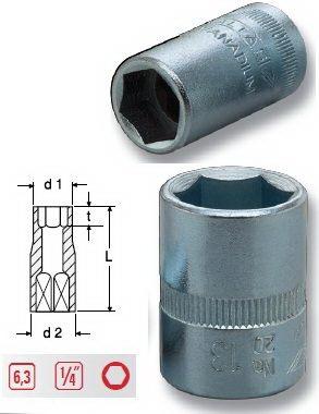 Altaş 11mm 1/4 Tek Lokma // 01020300711