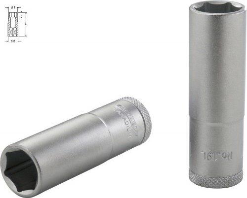 Altaş 14mm 1/4'' Tek Lokma Uzun Tip // 01020300792