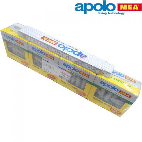 Apollo Mea 9GKD Alcipan Dubeli 200 Adet Ahsap Metre Hediyeli