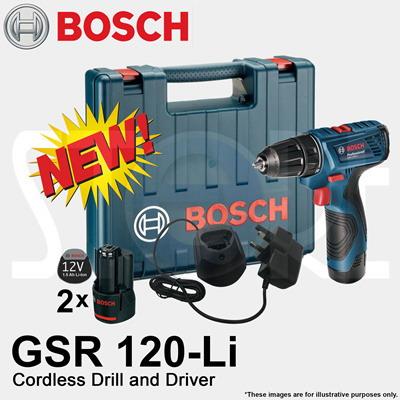 Bosch GSR 120-Li Akülü Vidalama 12V 1.5Ah