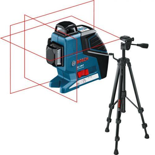 Bosch GLL 3-80 P + BT 150 Çizgi Hizalama Lazeri