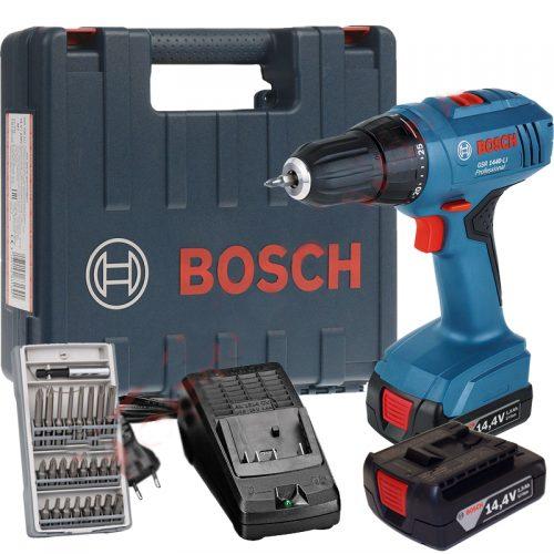 Bosch GSR 1440-Li Vidalama Çift Akülü Li-ion 14.4V 1.5Ah