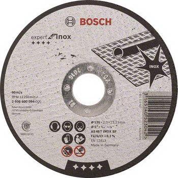 Bosch Metal Kesme Diski İnox 125x1.6x22.23mm