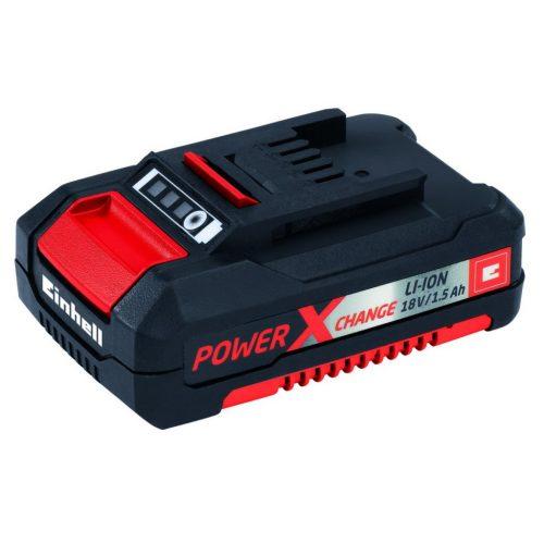 Einhell Power X-Change Akü -Li-ion, 18V, 1,5 Ah -Tüm Power X-Change ürünleri ile uyumlu-