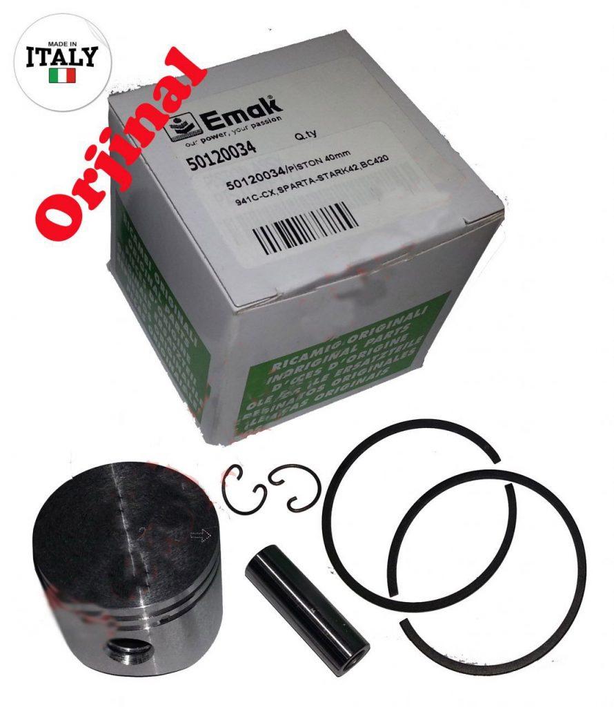 Emak 50mm Oleo-Mac 970/971/980/981 Efco 170/171/181/181 Piston // 097000205B