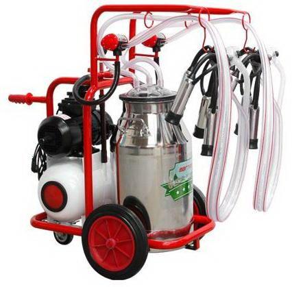 Farmate Yağlı ve Çelik Güğüm Süt Sağım Makinası