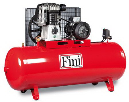 Fini BK119 500 F Kopresör Kasnaklı 500 Litre