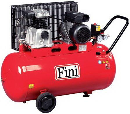 Fini MK102/N-100 Kompresör Kasnaklı 100 Litre