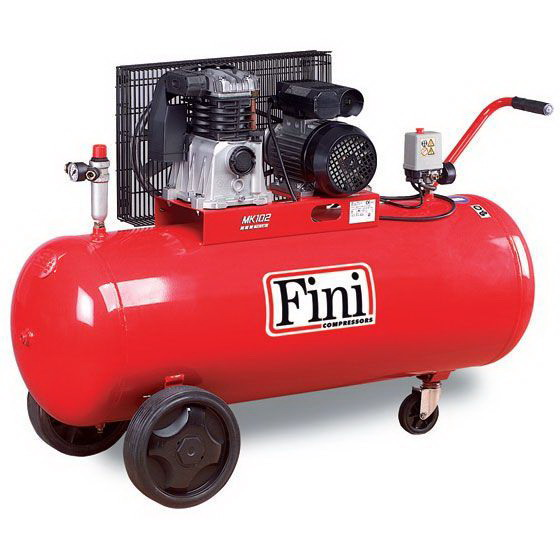 Fini MK102/N-150 Kopresör Kasnaklı 150 Litre