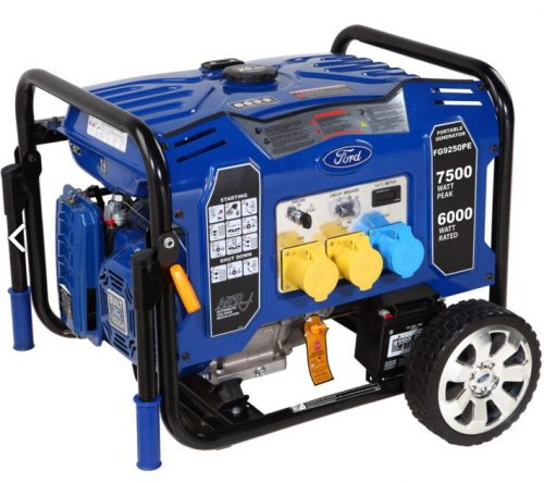 Ford FG9250PE Benzinli Marşlı Jeneratör 7.5kVA 15Hp