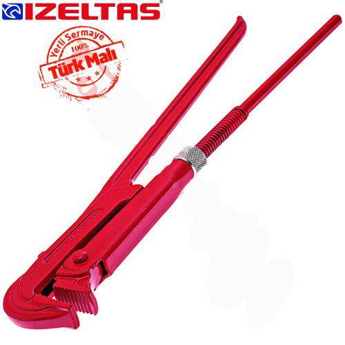 İzeltaş 2201100015 Maşalı Boru Anahtarı 1.1/2'' 430mm