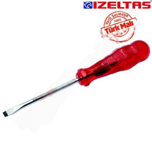 İzeltaş 4100175150 Düz Tornavida Kraft 5x150mm