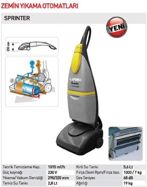 Lavor SPRINTER / Zemin Yıkama Makinası