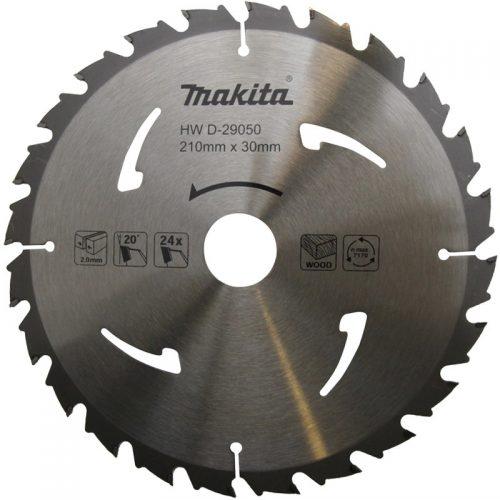 Makita D-29050 Elmas Daire Testere Bıçağı 210mm 24Diş