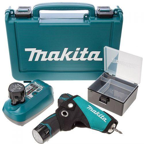 Makita HP330DWE Darbeli Çift Akülü Vidalama Li-ion 10.8V 1.3Ah