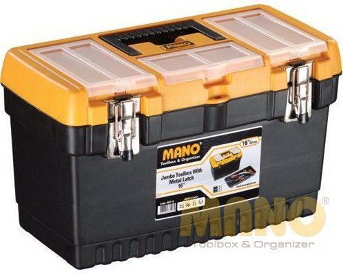 Mano JMT-16'' Jumbo Metal Kilitli Takım Çantası
