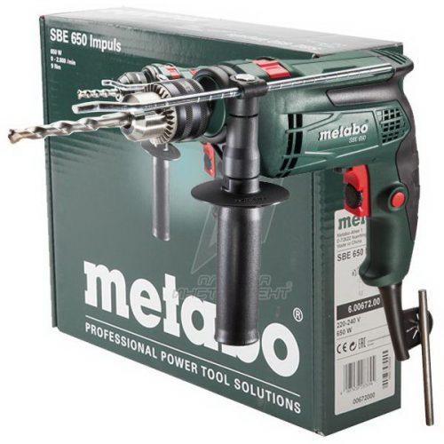 Metabo SBE 650 Darbeli Matkap 650W
