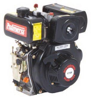 Palmera 4.7Hp Kamalı Dizel Motor // PA-HP170F