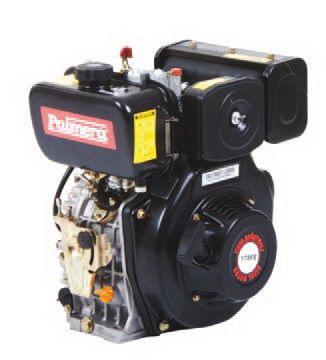 Palmera 6.7Hp Marşlı Kamalı Dizel Motor // PA-HP178FE
