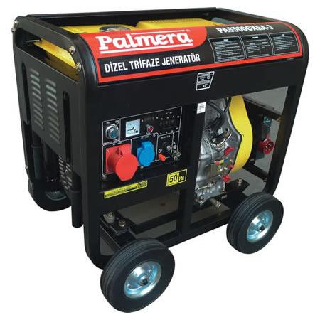 Palmera HP8500CXEA-3 Dizel Otomatik Jeneratör Trifaze 7kVA