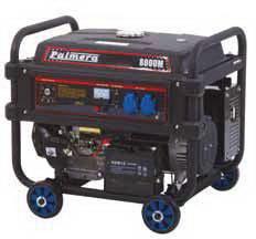 Palmera PA8000M Benzinli Marşlı Jeneratör 6.5kW 12Hp