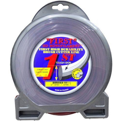 First 7430088 Misina 3.3mm 51m 5 Köşeli Silikonlu