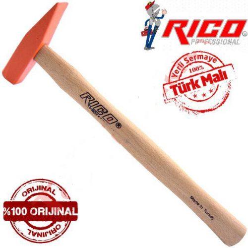 Rico 016-RC3835 / 500gr Ağaç Saplı Çekiç