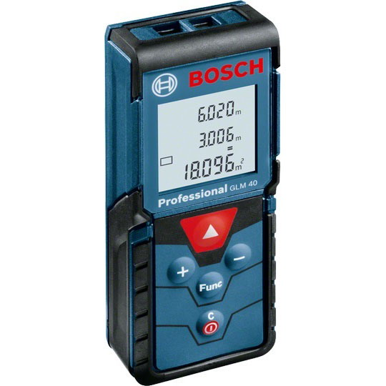 Bosch GLM 40 Dijital Lazerli Uzaklık Ölçer 40 Metre