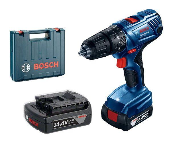 Bosch GSB 140-Li Vidalama Çift Akülü Darbeli Li-ion 14.4V 1.5Ah