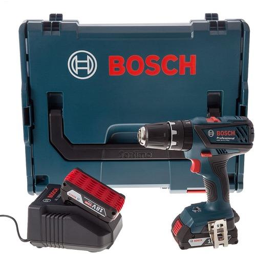 Bosch GSB 18-2-Li Plus Çift Akülü Darbeli Vidalama Li-ion 18V 2.0Ah