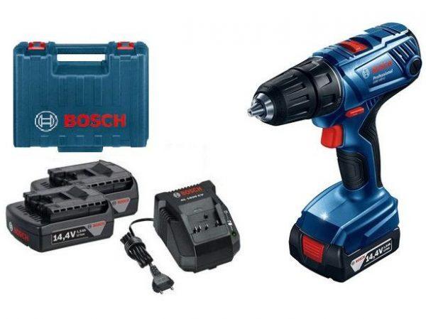 Bosch GSR 140-Li Çift Akülü Vidalama Makinası Li-ion 14.4V 1.5Ah