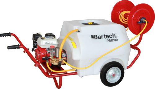 Bartech PM-200 Benzinli İlaçlama Makinası 6.5Hp 200 Litre