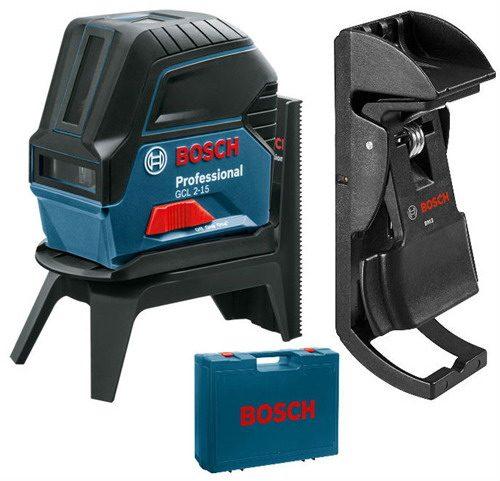 Bosch GCL 2-15 Çizgi Hizalama Lazeri RM1 + BM3
