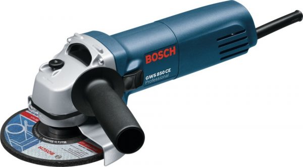 Bosch GWS 850 CE Avuç Taşlama 850W 115mm Devir Ayarlı