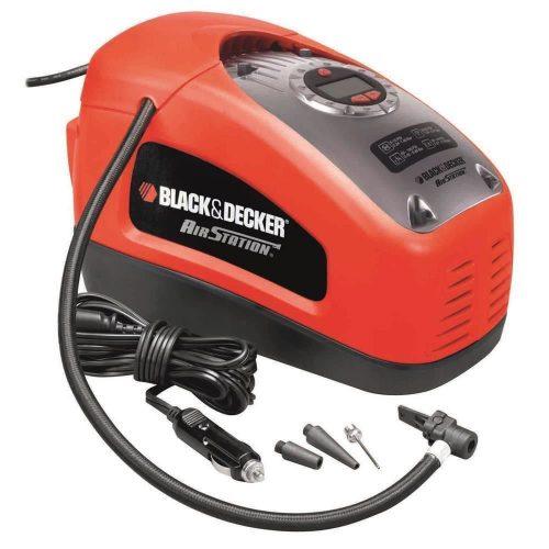 Black&Decker ASI300 12Volt/220Volt 160PSI Hava Kompresörü