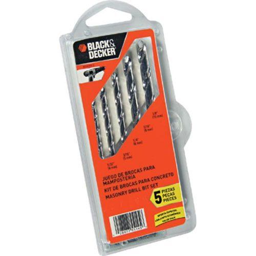 Black&Decker BD0090CS 5 Parça Beton Matkap Uç Seti