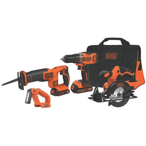 Black&Decker BDC4KITB 18Volt / 1