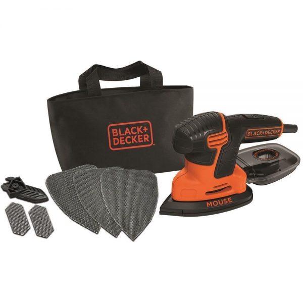 Black&Decker KA2000 120Watt Mouse™ Çok Amaçlı Zımpara