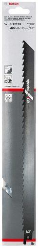 Bosch S1211K Et Kemik Testere Bıçağı Paslanmaz 300mm 12''