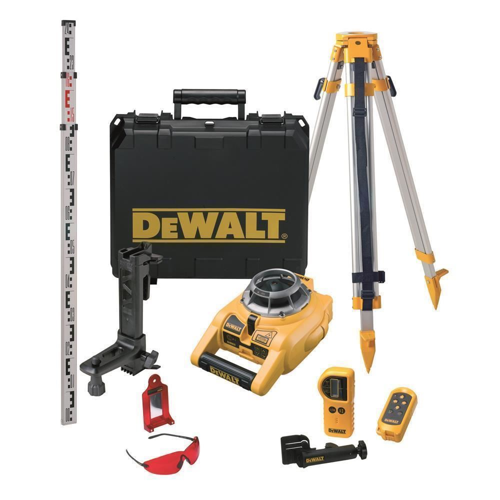 Dewalt DW075PK Profesyonel Yatay ve Dikey Otomatik Hizalamalı Rotatif Lazer Distomat - 07 Mağaza