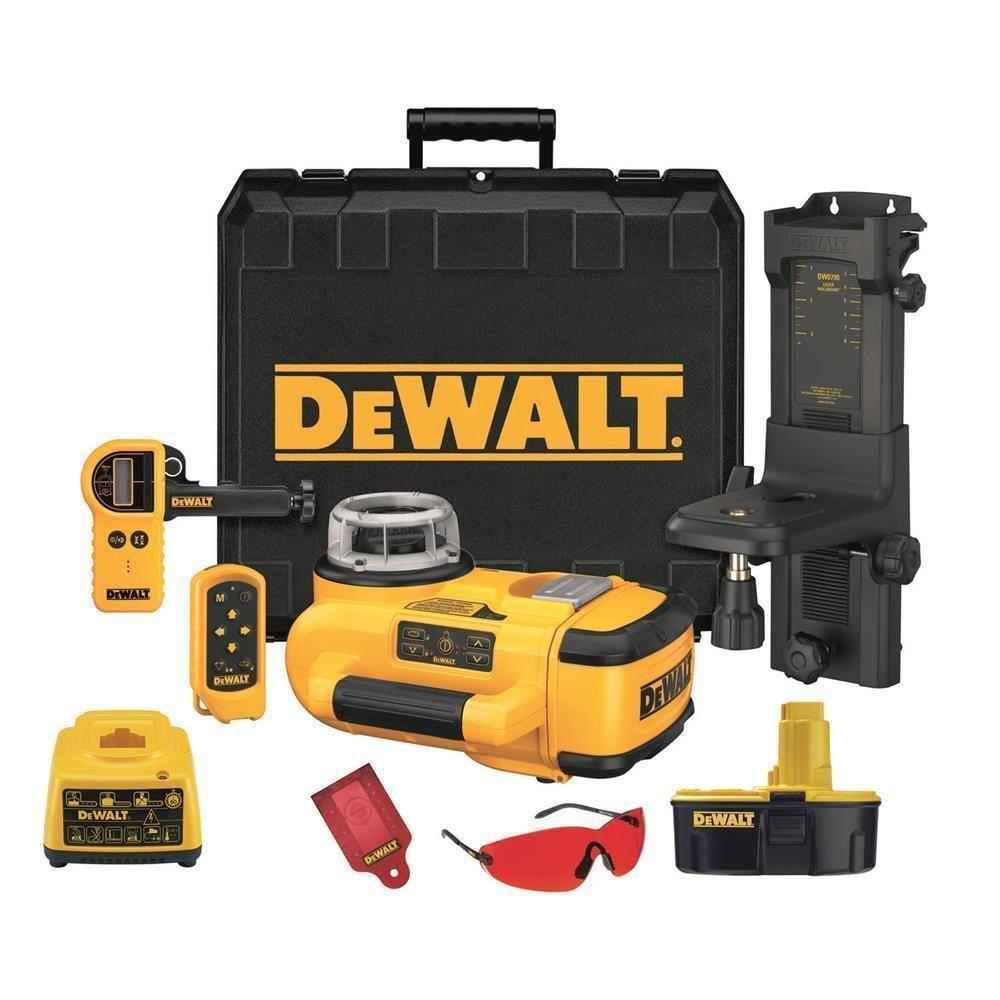 Dewalt DW079KH Profesyonel 18Volt/2.6Ah Nimh Yatay ve Dikey Otomatik Hizalamalı Rotatif Lazer Distomat - 07 Mağaza