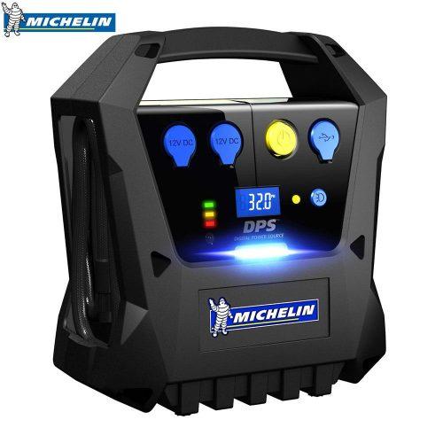 Michelin MC12267 12Volt Şarjlı 120 PSI Dijital Basınç Göstergeli Taşınabilir Hava Pompası + Power Bank