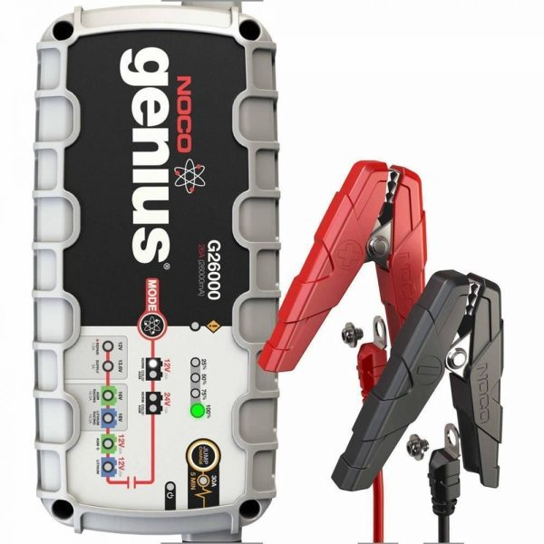 NOCO Genius G26000 12V/24V 500Ah Ultrasafe Akıllı Akü Şarj ve Akü Bakım