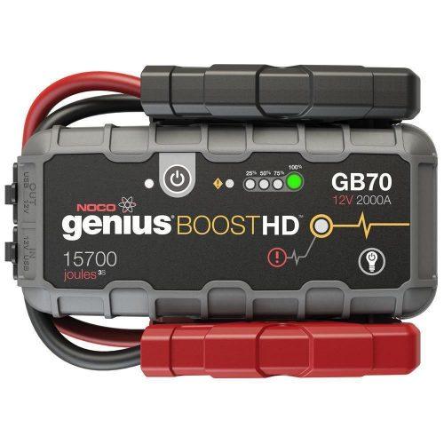 NOCO Genius GB70 12V 2000Amp Ultrasafe Lityum Akü Takviye + Powerbank + Led Lamba