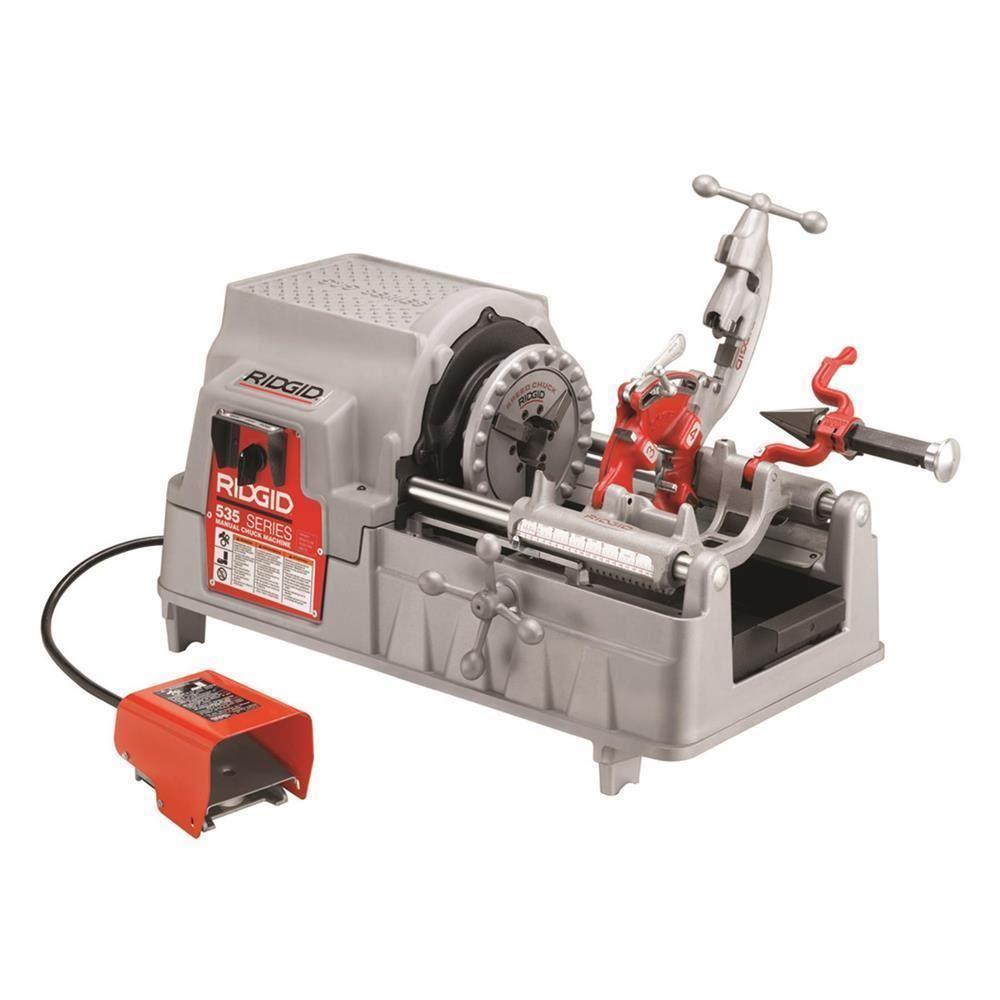RIDGID 96052 Model 535 Nervürlü Demire Diş Açma Makinesi (Manuel Mengene) - 07 Mağaza