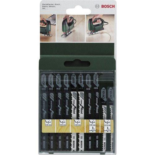 Bosch Dekupaj Testere Bıçağı 10 Parça Ahşap