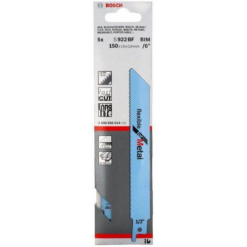 Bosch S922BBF Kılıç Testere Bıçağı Metal 5 Parça