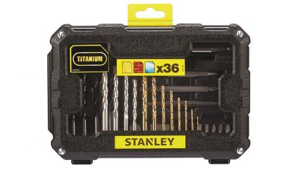 Stanley STA7222 36 Parça Delme ve Vidalama Uç Seti