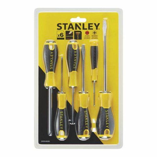 Stanley STHT060208 6 Parça Tornavida Seti Küçük